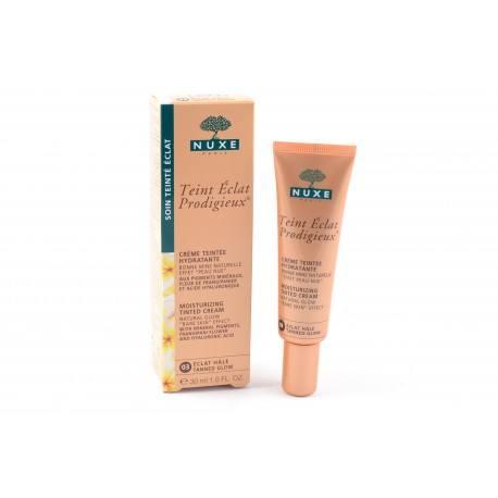 NUXE Crème teintée Eclat prodigieux teint Eclat hâlé tube 30ml