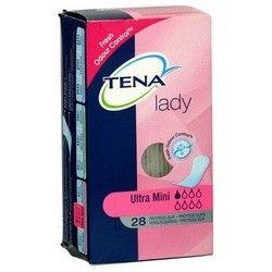 TENA LADY Serviettes pour fuites urinaires légères à modérées