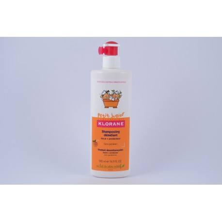 KLORANE PETIT JUNIOR Shampooing démêlant Pêche Flacon-pompe de 500 ml