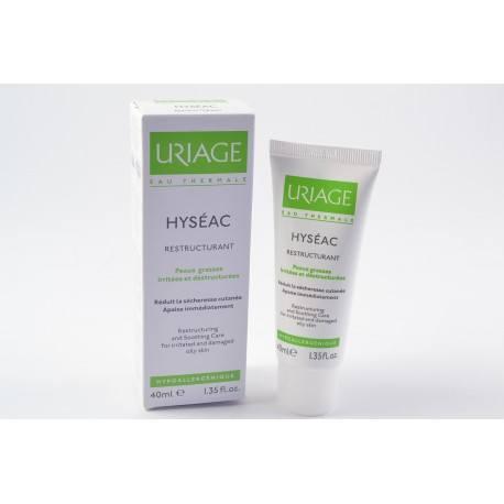 URIAGE HYSEAC Emulsion légère restructurante Peaux grasses irritées Tube de 40 ml