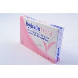 HYDRALIN Flora 10 capsules vaginales