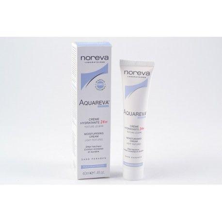 NOREVA AQUAREVA Crème hydratante 24h texture légère tube de 40 ml