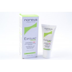 NOREVA EXFOLIAC Acnoméga 200 Soin kératorégulateur matifiant tube de 30 ml