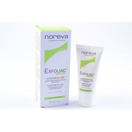 NOREVA EXFOLIAC Soin kératorégulateur matifiant tube de 30 ml