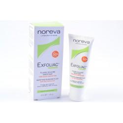 NOREVA EXFOLIAC Fluide solaire matifiant SPF 50 + Tube de 40 ml