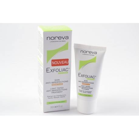 NOREVA EXFOLIAC Soin anti-imperfections teinte clair