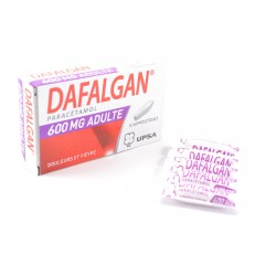DAFALGAN (Paracetamol) 600 mg Adultes Boite de 10 suppositoires