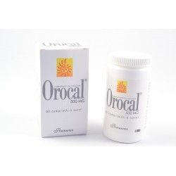 OROCAL 500 mg Boite de 60 comprimés à sucer