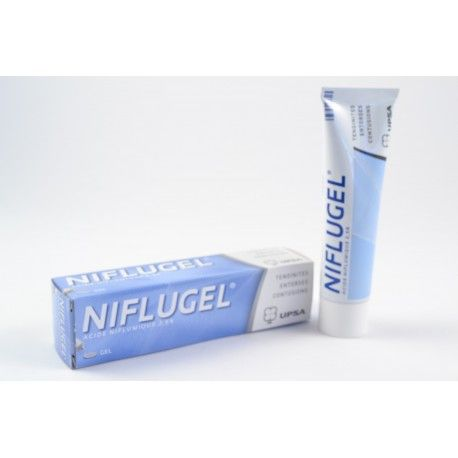 NIFLUGEL 2,5 % (Acide Niflumique) Tendinite,entorse,contusion, Tube de 60 g
