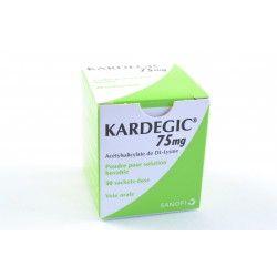 KARDEGIC 75 mg Poudre pour solution buvable Boite de 30 sachets