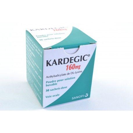 KARDEGIC 160 mg Poudre pour solution buvable Boite de 30 sachets