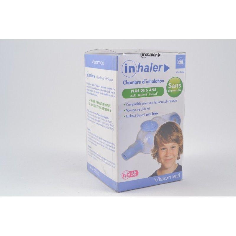 Inhaler chambre d 39 inhalation enfants de plus de 6 ans for Chambre d inhalation