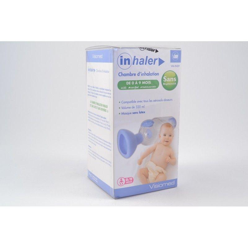 Inhaler chambre d 39 inhalation enfants de 0 9 mois for Chambre d inhalation