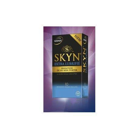 MANIX SKYN Extra Lubrifié sans latex Boite de 10 préservatifs