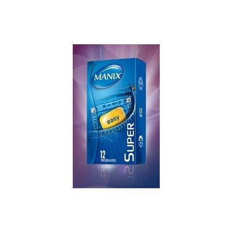 MANIX SUPER préservatifs standart Boite de 12