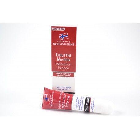 NEUTROGENA Baume lèvres réparation intense Tube de 15 ml