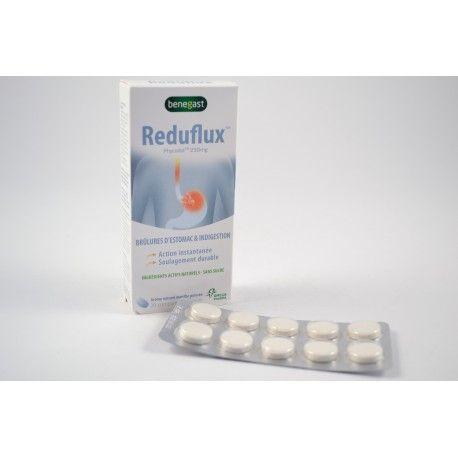 REDUFLUX Brulures d'estomac et indigestion Boite de 20 comprimés a croquer