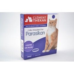 PARASIKAN Collier antiparasitaires externes pour Chats