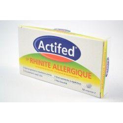 ACTIFED LP Rhinite allergique Boite de 10 comprimés