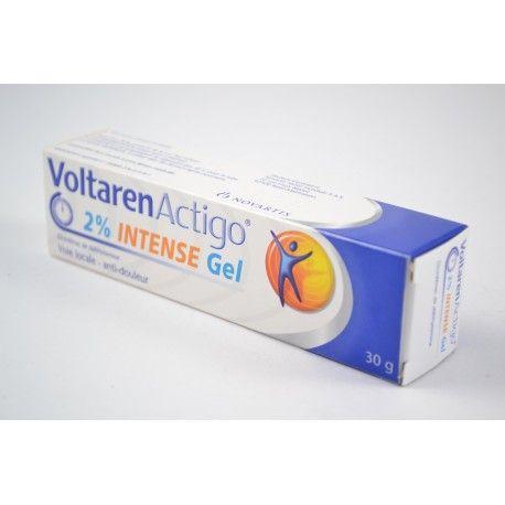 VOLTARENACTIGO 2% Intense Gel tube de 30 g