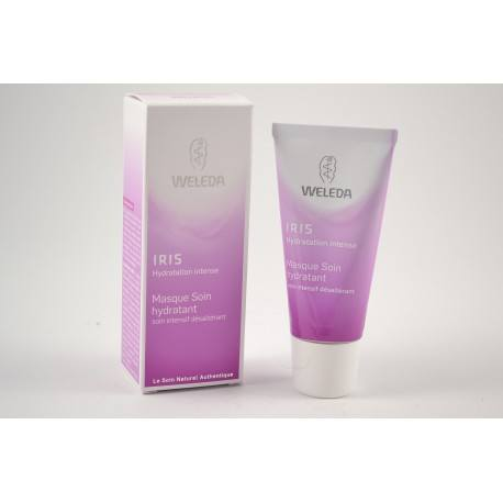 WELEDA Masque Soin hydratant à l'iris Tube de 30 ml