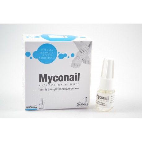 MYCONAIL Vernis à ongles médicamenteux pour les mycoses légères à modérés