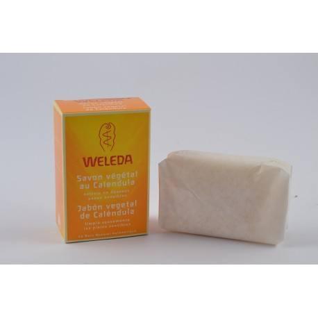 WELEDA Savon vegetal tres doux au Calendula Pain de 100g