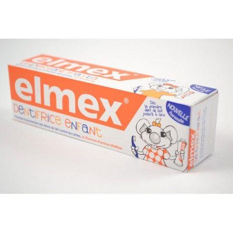 ELMEX Dentifrice pour enfant jusqu'à 6 ans Tube de 50 ml