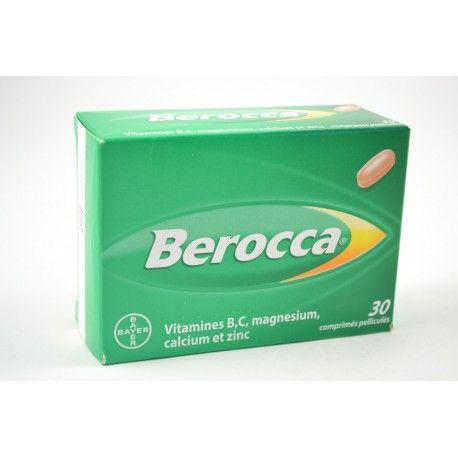 BEROCCA Boite de 30 comprimés