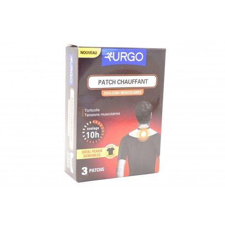 URGO Patch chauffant (Douleurs musculaire) spécial vêtement