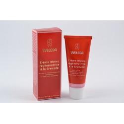 WELEDA SOINS CORPS Crème mains régénératrice à la Grenade Tube de 50ml