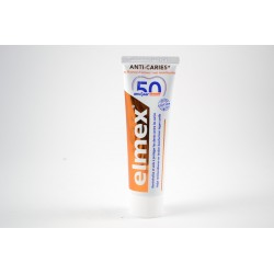 ELMEX Dentifrice protection caries Edition limitée 50 ans d'ELMEX
