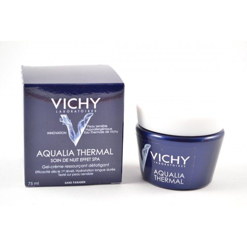 vichy aqualia thermal soin de nuit effet spa pot de 75 ml. Black Bedroom Furniture Sets. Home Design Ideas