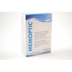 MEMOPTIC Complément alimentaire Boite de 30 comprimés