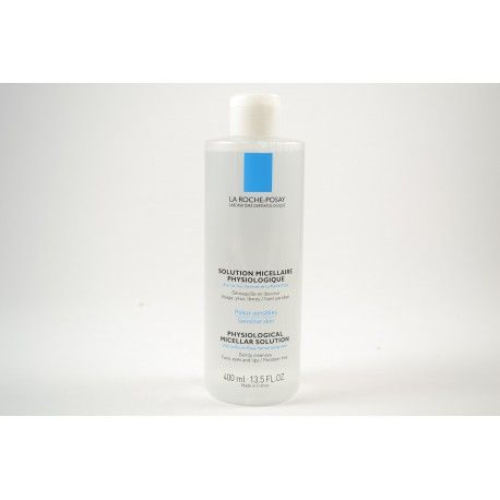 LA ROCHE POSAY Solution micellaire physiologique Flacon de 400 ml