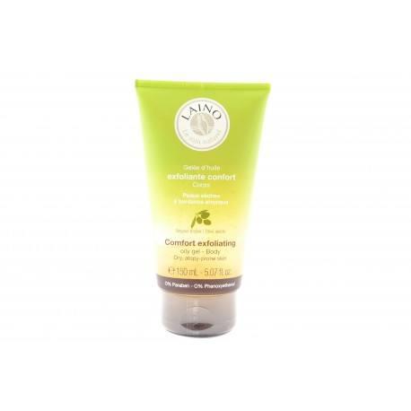 LAINO Gelée d'huile exfoliante Confort Corps Peaux sèches Tube de 150 ml