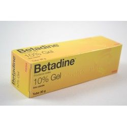 BETADINE 10 % Gel Tube de 30 g