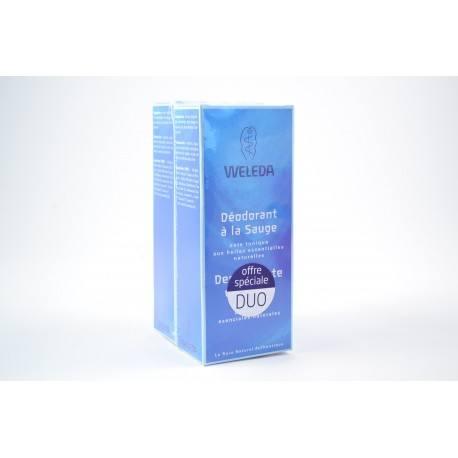 WELEDA Lot de 2 déodorant à la sauge