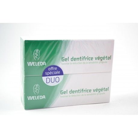 WELEDA Lot de 2 gels dentifrice végétal