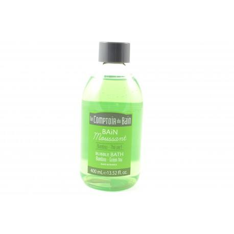 LE COMPTOIR DU BAIN Bain moussant BAMBOU-THE VERT Flacon de 400 ml