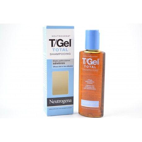 NEUTROGENA T/GEL Total Shampooing etat pélliculaires sévères Flacon de 125 ml
