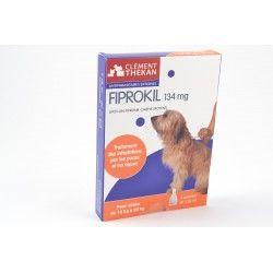 FIPROKIL Solution antiparasitaire pour chien de 10 - 20 kg 4 pipettes de 1.34ml