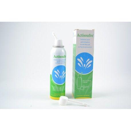 ACTISOUFRE Solution pour pulvérisation nasale / buccale Flacon de 100 ml