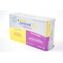 EASY MagnéVie Mémo + Boite de 30 gélules jour + 30 capsules Nuit