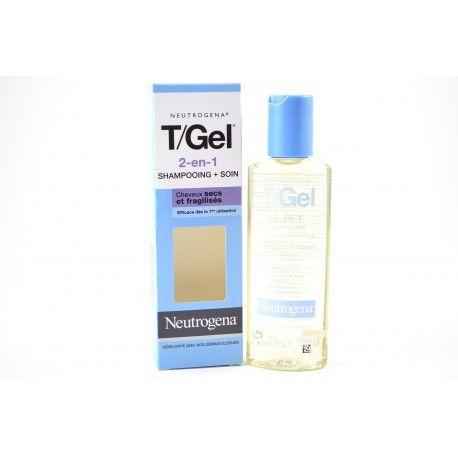 NEUTROGENA T GEL 2 en 1 Shampooing + soin pour cheveux secs et fragilisés Flacon de 125 ml