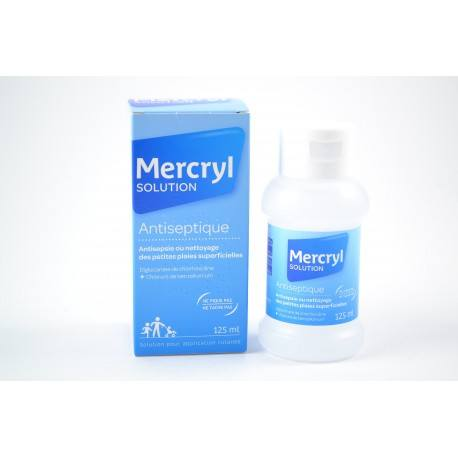 MERCRYL Sol n mouss Fl/125ml