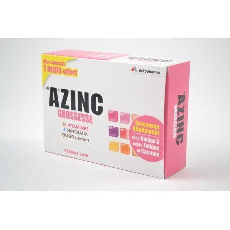 ARKOPHARMA AZINC Grossesse Boite de 120 gélules ( 2 mois)