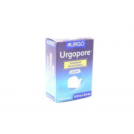 URGOPORE Sparadrap microporeux Géant 9,14 m X 2.5 cm
