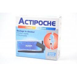 ACTIPOCHE Coussin thermique contre la douleur 11 X 27 xm
