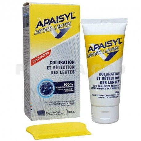 APAISYL Détect' lentes Gel + peigne + gants
